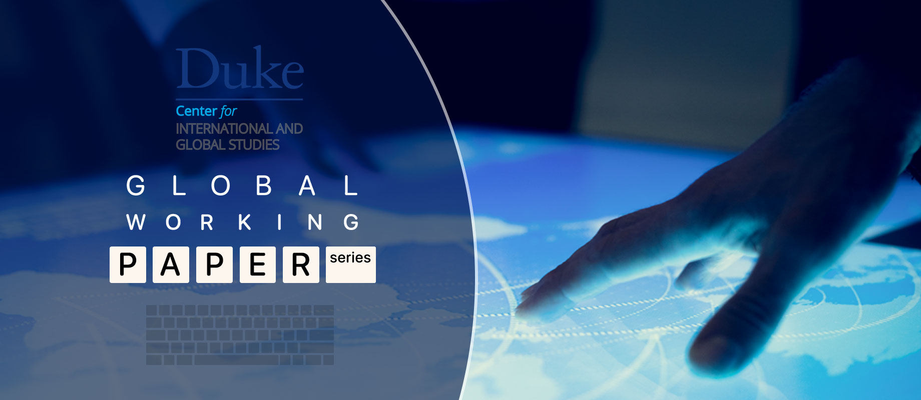 banner image for global working paper series page