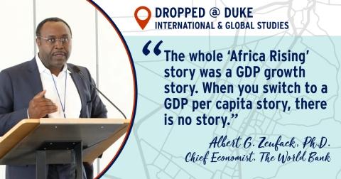 ALbert Zeufack Quote