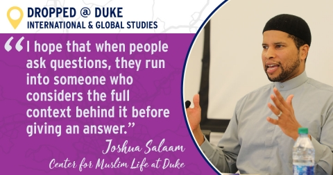 quote by Muslim Chaplain Joshua Salaam