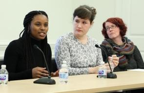 Lulla Kiwinda, Sophie Caplin, Jules Odendahl-James