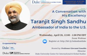 Ambassador Taranjit Singh Sandhu