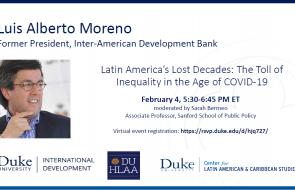 Conversations with Leaders - Luis Alberto Moreno Event Flyer