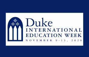 Duke International Education Week 2020 banner