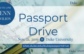 Passport Drive Flyer