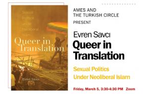 Queer in translation flyer
