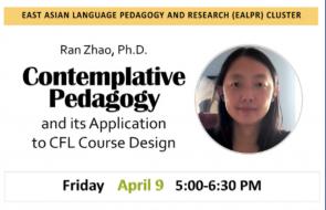 Ran Zhao, Ph.D. Associate Professor of Chinese