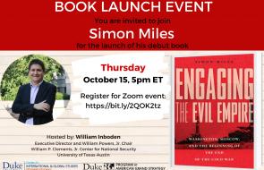 book talk flyer