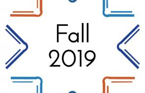 Fall 2019 Wednesdays at the Center logo