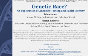 Genetic Race Flyer