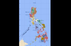 Phillipines Language Map