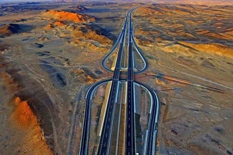 Scenic image of highways