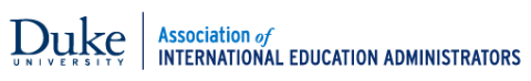 The Association of International Education Administrators logo