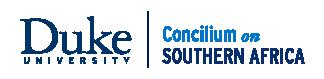 Concilium on Southern Africa logo