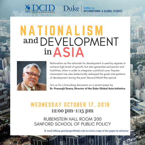 Nationalism and Development in Asia poster image