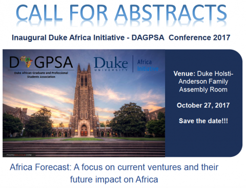 DAGPSA Call for Abstracts