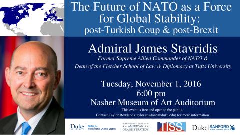 Admiral Stavridis Poster