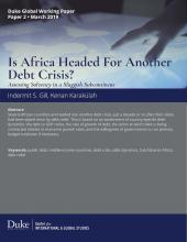 Is Africa Headed For Another Debt Crisis? Coverpage Image