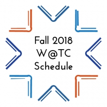 Fall 2018 Wednesdays at the Center Event Flyer