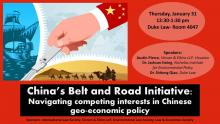 Belt Road Initiative Flyer
