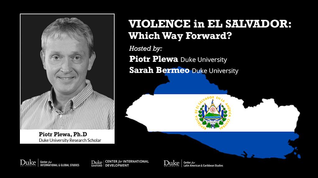 ElSalvador Event at Duke University_Piotr Plewa