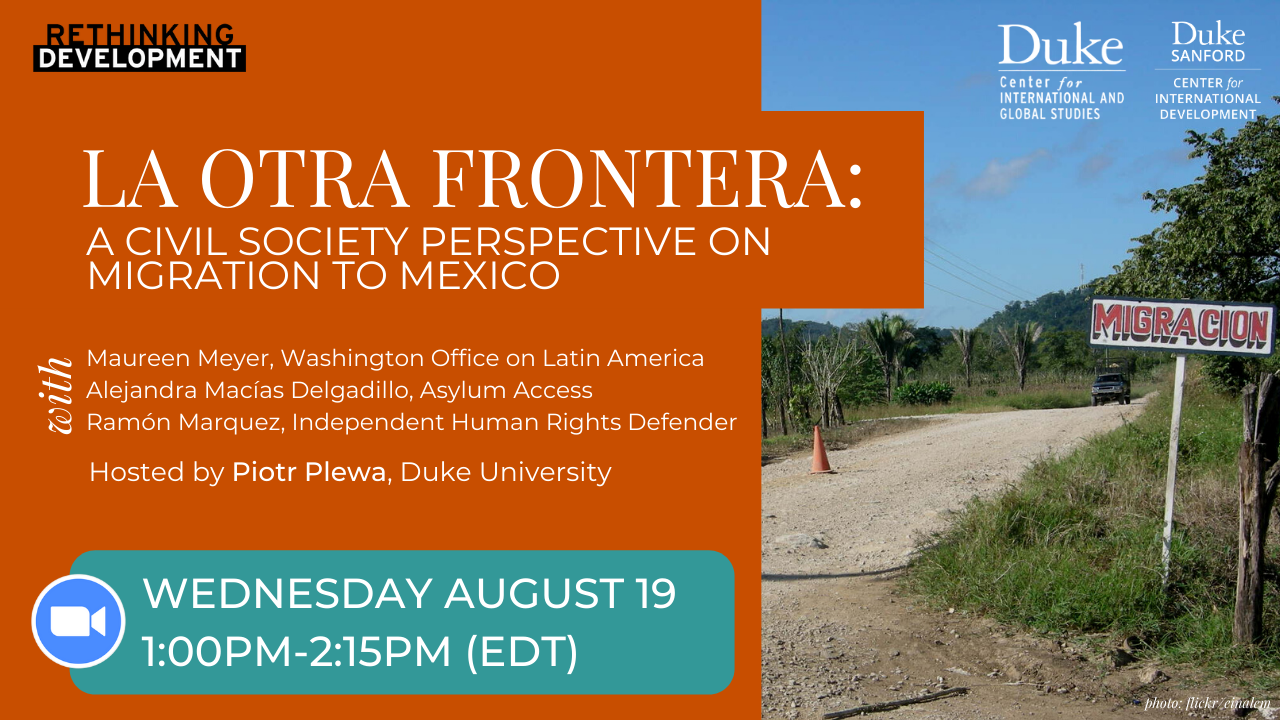 La Otra Frontera_A Civil Society Perspective on Migration to Mexico