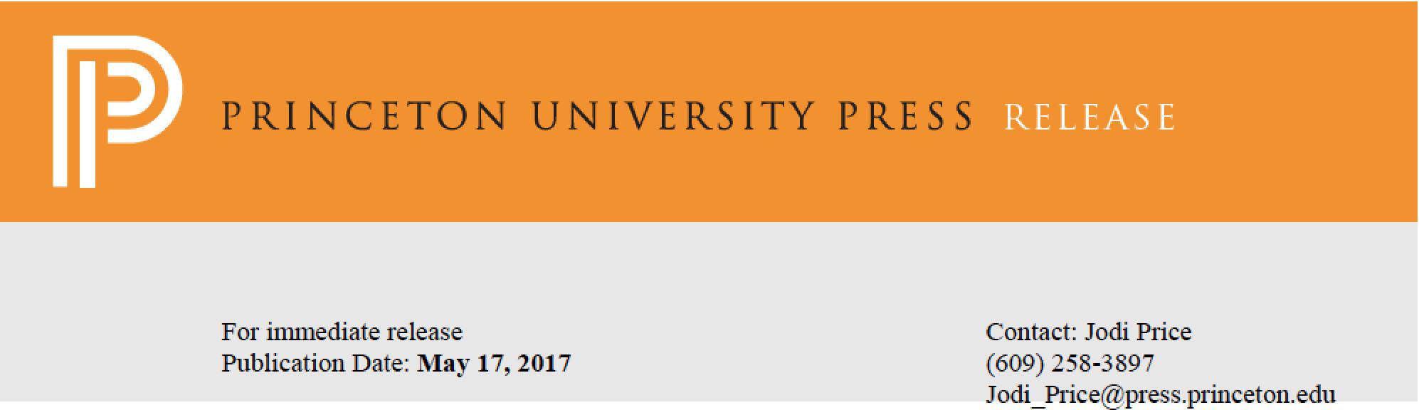 Princeton University Press Release